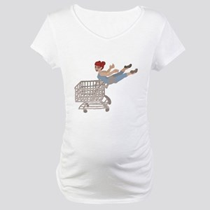 not just for shopping Maternity T-Shirt