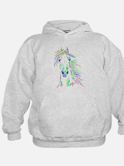 Colorful Steed Hoodie