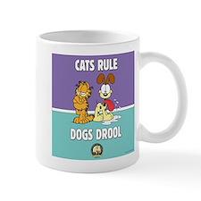 CFA Logo & Garfield Rules Mug