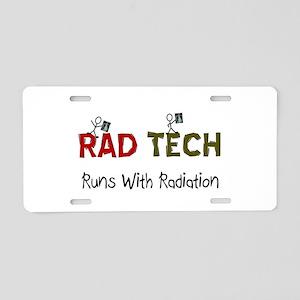 RAD TEch runs with radiation Aluminum License