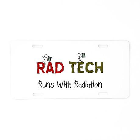 RAD TEch runs with radiation.PNG Aluminum License