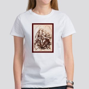 MADONNA WITH CAT Women's T-Shirt