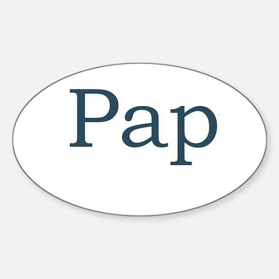 Pap Sticker (Oval)