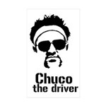 chuco face sticker Sticker (Rectangle 50 pk)