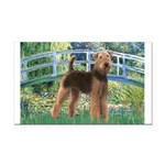 Bridge - Airedale #6 Rectangle Car Magnet