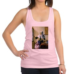 Pitcher-Aussie Shep1 Racerback Tank Top