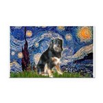 Starry - Aussie Shep (tri-L) Rectangle Car Magnet