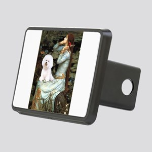 Ophelia & Bichon Rectangular Hitch Cover