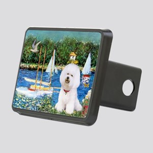 Sailboats (1) Rectangular Hitch Cover