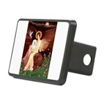 Seated Angel & Bolognese Rectangular Hitch Cover