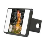 Fairies & Bolognese Rectangular Hitch Cover