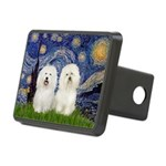 Starry Night / 2 Bolognese Rectangular Hitch Cover