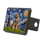 Starry Night / Border Terrier Rectangular Hitch Co
