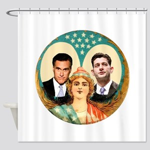 Romney Ryan Shower Curtain