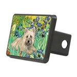 Irises/Cairn #4 Rectangular Hitch Cover