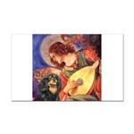 Angel (3) & Cavalier (BT) Rectangle Car Magnet