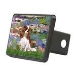 Lilies2 & Cavalier Rectangular Hitch Cover