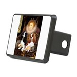 The Queens Cavalier Pair Rectangular Hitch Cover