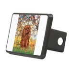 Spring and Ruby Cavalier Rectangular Hitch Cover