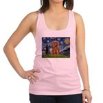 Starry Night Ruby Cavalier Racerback Tank Top