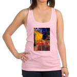 Cafe & Ruby Cavalier Racerback Tank Top