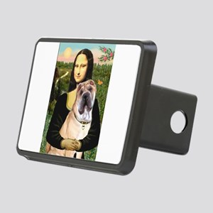 Mona Lisa's Shar Pei (#5) Rectangular Hitch Cover