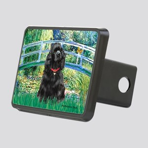 Bridge / Black Cocker Spaniel Rectangular Hitch Co