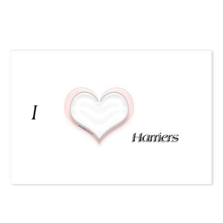 I heart Harrier Postcards (Package of 8)
