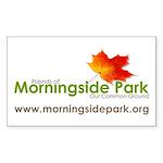 FMPLogoCloseVIVIDwURL_fl Sticker (Rectangle 50 pk)
