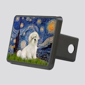 Starry / Coton de Tulear (#7) Rectangular Hitch Co