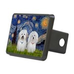 Starry / Coton Pair Rectangular Hitch Cover