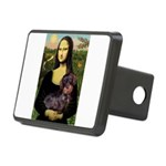Mona / Dachshund (wire) Rectangular Hitch Cover
