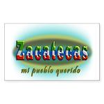 Zacatecas-3b Sticker (Rectangle 50 pk)