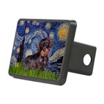 Starry Night Dachshund (Wire) Rectangular Hitch Co