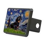 Starry Night Dachshund Rectangular Hitch Cover