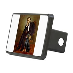 Lincoln's Doberman Hitch Cover
