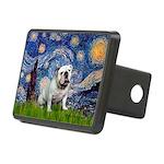 Starry Night English Bulldog Rectangular Hitch Cov