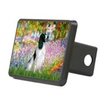 Monet's garden & Springer Rectangular Hitch Cover