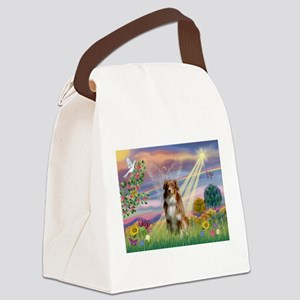 Cloud Angel / Aussie (rm) Canvas Lunch Bag