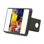 Cafe / Smooth T (#1) Rectangular Hitch Cover
