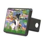 Lilies / Smooth T (#1) Rectangular Hitch Cover