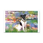 Lilies / Smooth T (#1) Rectangle Car Magnet