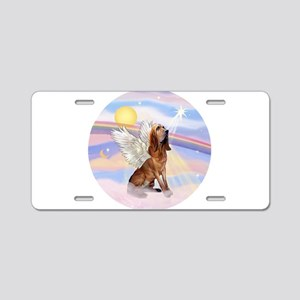 Clouds-BloodhoundAngel Aluminum License Plate