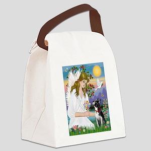 Angel Love / Boston Terrier 3 Canvas Lunch Bag