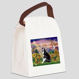 Autumn Angel & Boston Canvas Lunch Bag