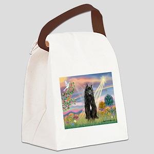 Cloud Angel & Bouvier Canvas Lunch Bag