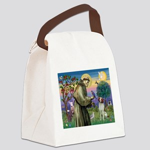 St Francis / American Brittan Canvas Lunch Bag