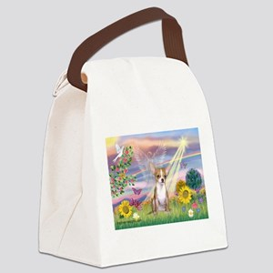 Cloud Angel / Chihuahua (f) Canvas Lunch Bag