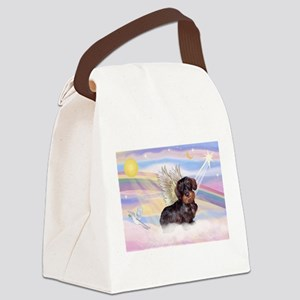 Wire Haired Doxie Canvas Lunch Bag