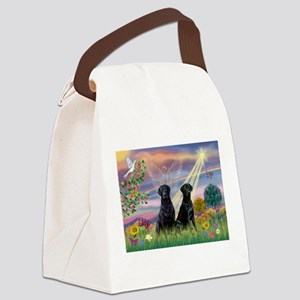 Cloud Angel & 2 Labs Canvas Lunch Bag